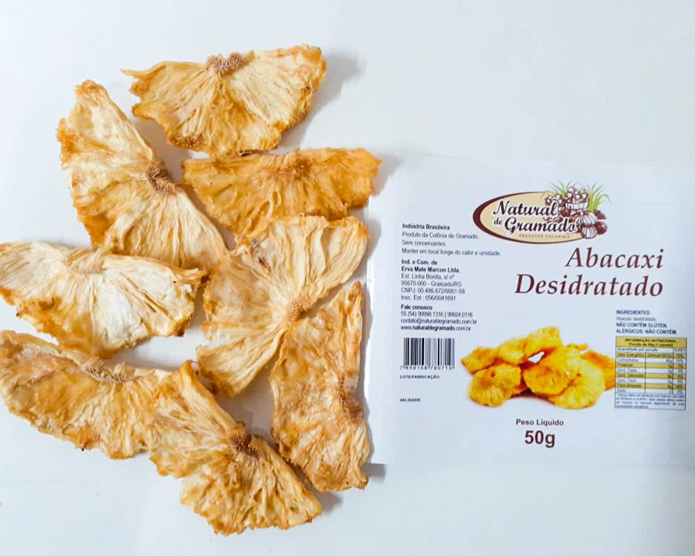 Abacaxi Desidratado