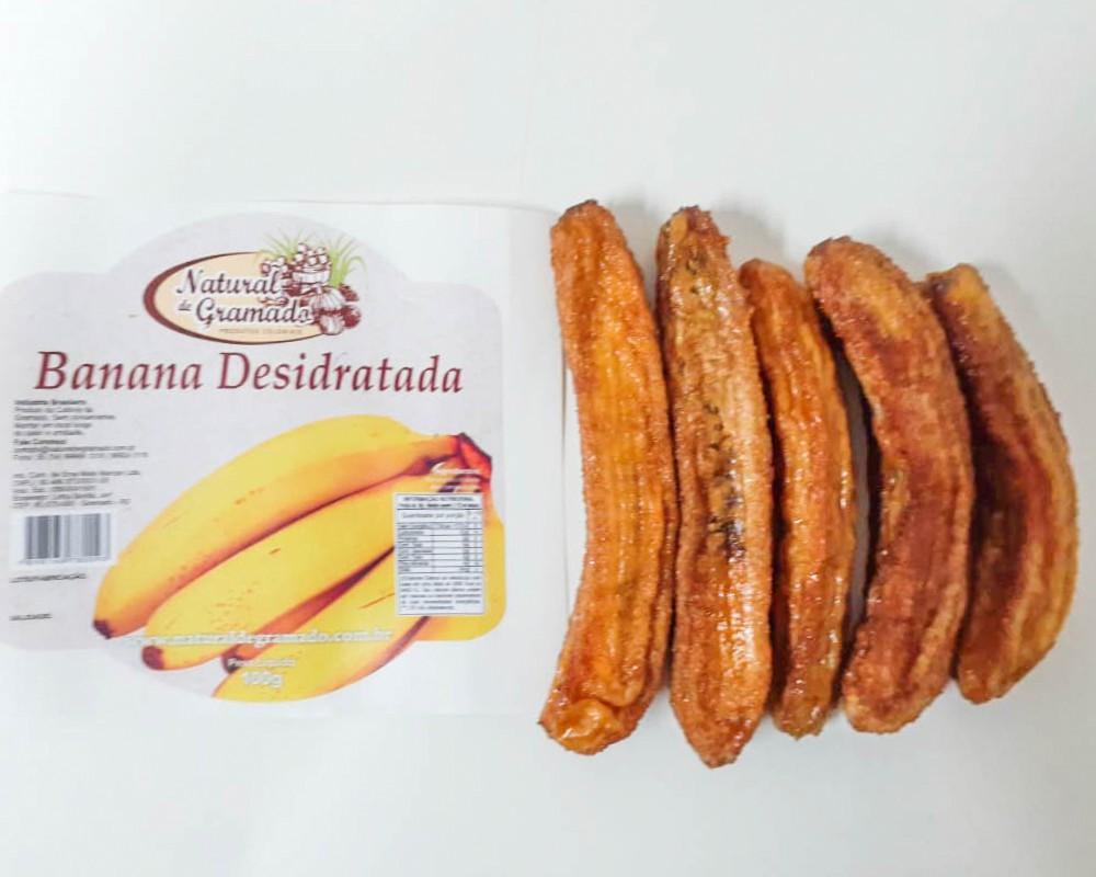 Banana Desidratada em Fatiada